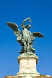 Saint Angels Castle Sculpture Royalty Free Stock Image