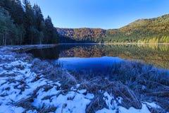 Saint Anna湖,罗马尼亚 免版税库存图片