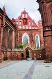 Saint Anna Church, Vilnius Royalty Free Stock Image