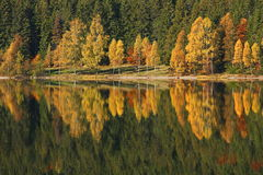 Autumn landscape - Saint Anna Lake Royalty Free Stock Photo