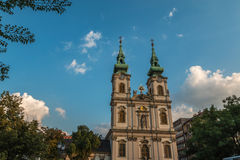 Saint Anne Church in Budapest Hungary Royalty Free Stock Photos