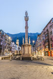 Saint Anne Column in Innsbruck, Austria. Royalty Free Stock Photo