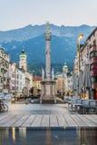 Saint Anne Column in Innsbruck, Austria. Royalty Free Stock Photos