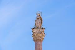 Saint Anne Column in Innsbruck, Austria. Royalty Free Stock Image