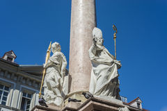 Saint Anne Column in Innsbruck, Austria. Stock Photos