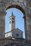 Saint Anthony Church in Pula, Croatia Royalty Free Stock Image