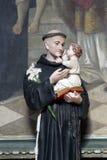 Saint Anthony de Padoue photos libres de droits