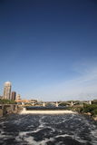 Saint Anthony Falls - Minneapolis Stock Images