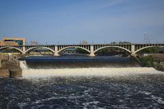 Saint Anthony Falls - Minneapolis Royalty Free Stock Image