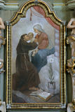 Saint Anthony of Padua Stock Image