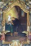 Saint Anthony of Padua Stock Images