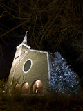 Saint Anthony of Padua Reformed Church in Budapest at christmas time Royalty Free Stock Photo