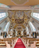 Saint Anthony of Padua in Rietz, Austria. Stock Images