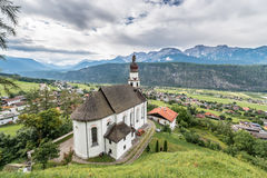 Saint Anthony of Padua in Rietz, Austria. Stock Photography