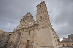 Agira, Sicily, Saint Anthony of Padua's church Royalty Free Stock Images