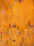 Saint Anton - Drawings of flowers and plants by Bulgarian tsar Ferdinand Coburg Stock Photography