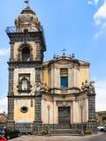 Saint Antonio church in Castiglione di Sicilia Royalty Free Stock Photos
