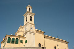 Saint antonio church genoa Royalty Free Stock Image