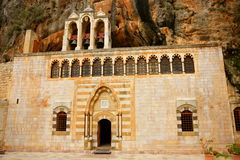Saint Antonios The Great Monastery. Monastery and Church of Saint Antonios the Great, aka Mar Mtanios Kozhaya, first occupied by Christian hermits in the 4th Stock Images
