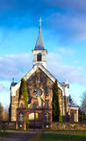 Saint apostles catholic church of stones Stock Photo