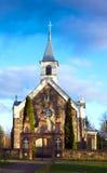 Saint apostles catholic church of stones. Folk architecture Stock Photo