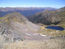 Saint Arnaud mountain range stock image