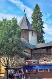 Saint-Assumption Pskovo-Pechersky monastery Stock Photos