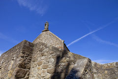 Saint Aubert Chapel Stock Photography