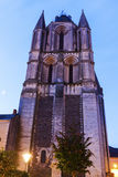 Saint-Aubin Abbey in Angers Royalty Free Stock Photos