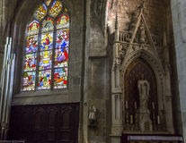 Saint-Aubin church in Guerande, France Royalty Free Stock Photos