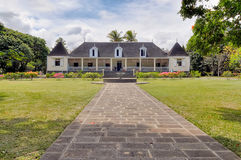 Saint Aubin estate in Mauritius Stock Photos