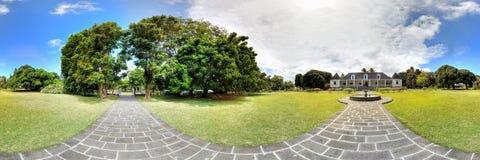 Saint Aubin estate in Mauritius Stock Image