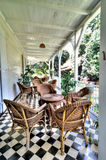 Saint Aubin estate in Mauritius Stock Photos