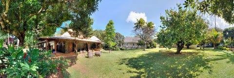 Saint Aubin estate in Mauritius Stock Photography