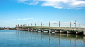 Saint Augustine bridge royalty free stock photography