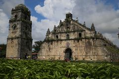 Paoay Church Royalty Free Stock Images