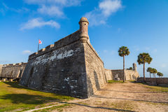 Saint Augustine Fort Image stock