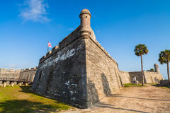 Saint Augustine Fort. Historic Saint Augustine Fort in Florida Royalty Free Stock Image