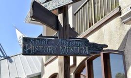 Saint Augustine History Museum, St Augustine, Florida fotografia de stock