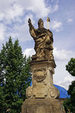 Saint Augustine statue Royalty Free Stock Images