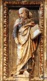 Saint, autel de St Anastasius dans la cathédrale de St Domnius dans la fente Photo stock