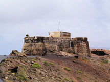 Saint Barbara Castle near Teguise Royalty Free Stock Photography