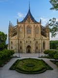 Saint Barbara Church in Kutna Hora, Czech Republic. UNESCO Royalty Free Stock Image