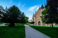 Saint Barbara Church in Kutna Hora, Czech Republic. UNESCO Royalty Free Stock Photo