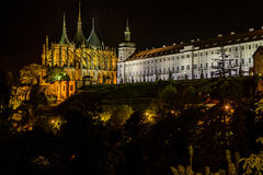 Saint Barbara Church in Kutna Hora, Czech Republic. UNESCO Royalty Free Stock Images