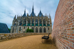 Saint Barbara Church in Kutna Hora, Czech Republic. UNESCO Stock Photos