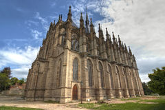 Saint Barbara Church, Kutna Hora Royalty Free Stock Image