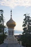 Saint Barbara Orthodox Church, Vevey Stock Photos