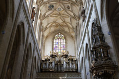 Saint Barbara's Church, Kutna Hora Royalty Free Stock Images