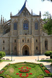 Saint Barbara's Church, Kutna Hora Stock Photo